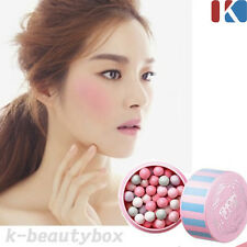 Face Blusher Makeup Show Case Ball On Cheek 12g 01. Bebe Pink / Korean Cosmetics