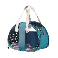 Ibiyaya Bubble Hotel Semi-Transparent Collapsible Pet Carrier | Turquoise