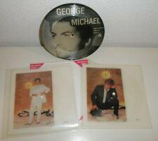 "WHAM! Freedom Picture Disc Andrew Ridgeley 7"" Square Vinyl Single George Michael"