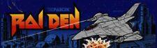 Raiden Arcade Marquee – 26″ x 8″