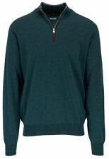Peter Millar Excursionist Flex English Wool 1/4 Zip Sweater Mens XL NWT $368