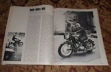 1967 Mint Print Clipping BMW 600cc R60 Motorcycles Cycle Road Test 4 pg