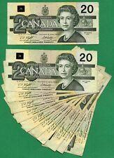 Knight Dodge  1991 Bank of Canada 20 dollar Twenty Dollars