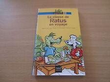 LA CLASSE DE RATUS EN VOYAGE - JEANINE ET JEAN GUION - RATUS POCHE
