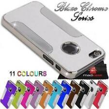 For Apple iPhone SE 5S 5 Case Chrome Bumper Mirror finish Hard back Cover