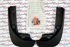 GENUINE Vauxhall CORSA D - REAR MUDFLAPS / SPLASH GUARDS KIT - NEW - MUD FLAPS