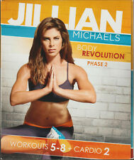 Jillian Michaels on Body Revolution Phase 2 of Weight Loss Workout Video a 5 Dvd