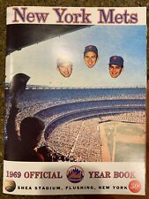 1969 New York Mets Original Official Year Book Very Good Condition In Sleeve