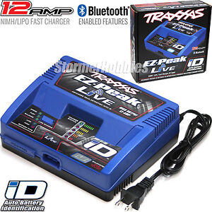 Traxxas 2971 Charger EZ-PEAK LIVE NiMh /LiPo with Auto Battery ID and power cord
