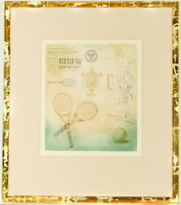 M.J. Wells - Limited Edition Framed Contemporary Etching, Sporting Life II