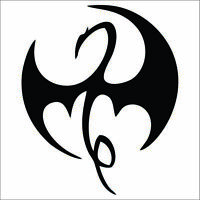 Iron Fist Decal / Sticker - Choose Color & Size - Marvel