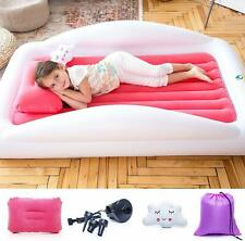 Sleepah Inflatable Toddler Travel Bed – Portable Bed Air Mattress set for Kids