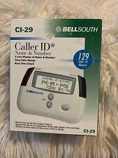 Nib Cl-29 BellSouth Caller Id