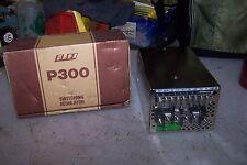 NEW ELCO P300U-5 POWER SUPPLY 120/240 VAC 20 WATT 5 VOLT 60 AMP