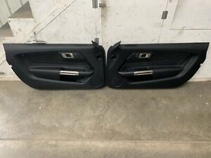 2016 2017 2018 Ford Mustang Shelby GT350 RH LH Door Panels Set of 2 - OEM