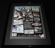 Matt Hoffman's Pro BMX 2 2002 PS2 XBox Framed 11x14 ORIGINAL Advertisement