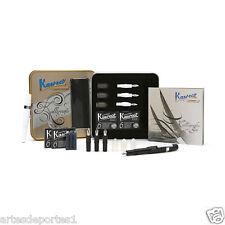 New Designed Kaweco Callygraphy Set Fountain Pen 4 Nibs Black Body Writing Gift