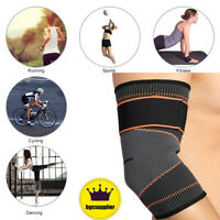 Elbow Brace Compression Support Elastic Arm Sleeve Reduce Joint Pain Sports Gym