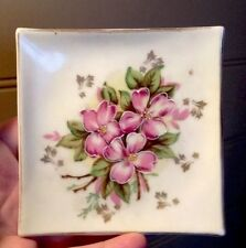 Beautiful Vintage Antique Hand Painted Porcelain Plate Made In Japan