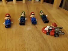 Mario and Lugi Lego Characters.