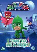 Pj Masks - Time To Be A Hero [DVD] [2017][Region 2]