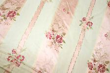 Dessus De Lit Fleurs Tissu Ancien , couvre lit , tissu de recouvrement