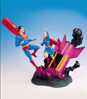 DC: SUPERMAN AND SUPERGIRL diorama statue (based on 1st Supergirl app) - RARE