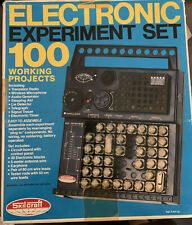 1982 SKILCRAFT ELECTRONIC EXPERIMENT SET 100 WORKING PROJECTS VINTAGE