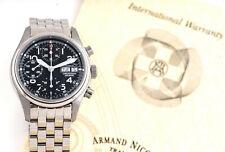 Armand Nicolet Automatik Automatic Herren Uhr Chrono Chronograph UVP* 4000.- NEU