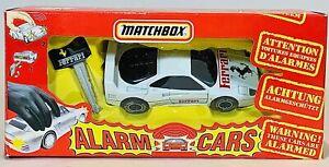 Vintage Matchbox Alarm Cars - Ferrari F40 (1992)
