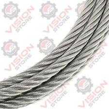 Wire Rope Cable 1mm 1.5mm 2mm 2.5mm 3mm 4mm 5mm 6mm-20mm Steel Metal Galvanised