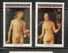 Adam & Eve Nude Painting by Durer, MNH Stamps