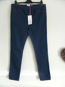 YOUR STYLE SIZE 18 BLUE DENIM PULL ON SKINNY JEGGINGS BNWT