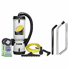 PROTEAM Backpack Vacuum Cleaner,10 qt.,6.2A, 100277