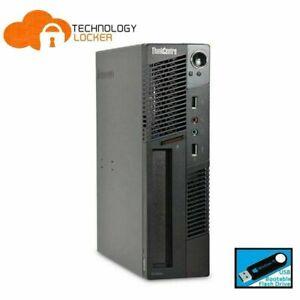 Lenovo ThinkCentre M92p SFF Desktop PC Intel i5-3470 4GB RAM 1TB HDD Win 10