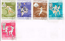 South Arabia Sport Olympics Tokyo stamps 1964