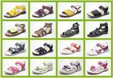 Sandalen für Mädchen aus Leder Größe Gewicht