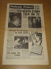 MELODY MAKER 1956 SEPTEMBER 29 TED HEATH JACK PARNELL RONNIE SCOTT LITA ROZA +