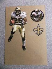 L#623 2008 Fathead Tradeable Reggie Bush, New Orleans Saints, loose, NrMt