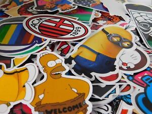 100 RANDOM  Stickers For Laptop/PC  iPhone/Android