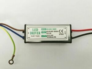 20W LED Driver Power Supply Waterproof 600mA±5% DC 21V - 38V For Floodlight DIY