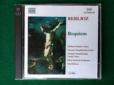 2 CD - BERLIOZ : REQUIEM / Schade Mendelssohn , 8.554494-95