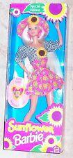 Barbie - Sunflower Barbie with Flower Surprise Fragrance in Locket MIB 1995