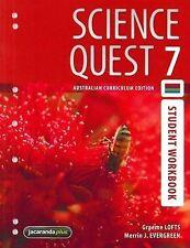 Science Quest 7 Australian Curriculum Edition Student Workbook '  Lofts