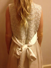 EUC- AS NEW- RRP$1,990-  Mint  Girls' 7/8 Yr Old  Flower Girl or Communion Dress