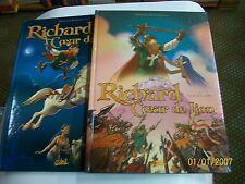 richard coeur de lion  tome 1 et 2  BREMAUD/BERTOLUCCI . eo .
