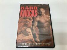 WWE Hard Knocks The Chris Benoit Story DVD 2 Disc 2004 *Water Damaged*