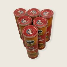 Cans Pringles Wendy's Spicy Chicken Sandwich Chips Limited Edition * Lot of 6