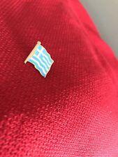 "GREEK FLAG ENAMEL PIN SOUVENIR 3/4"" Tall (FB)"
