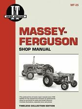 Massey Ferguson Shop Manual Models  Mdls MF25 MF130